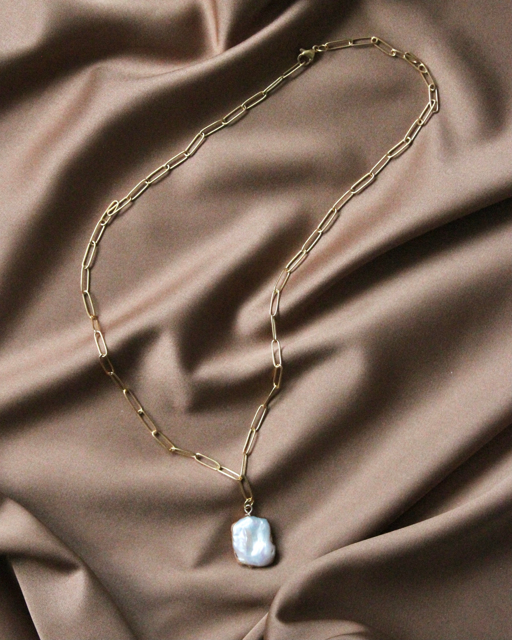 Pearl Chain Necklace Merrith