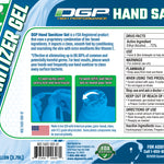DGP Advanced Hand Sanitizer Gel Case of 1 Gal Bottles - DGP High Performance