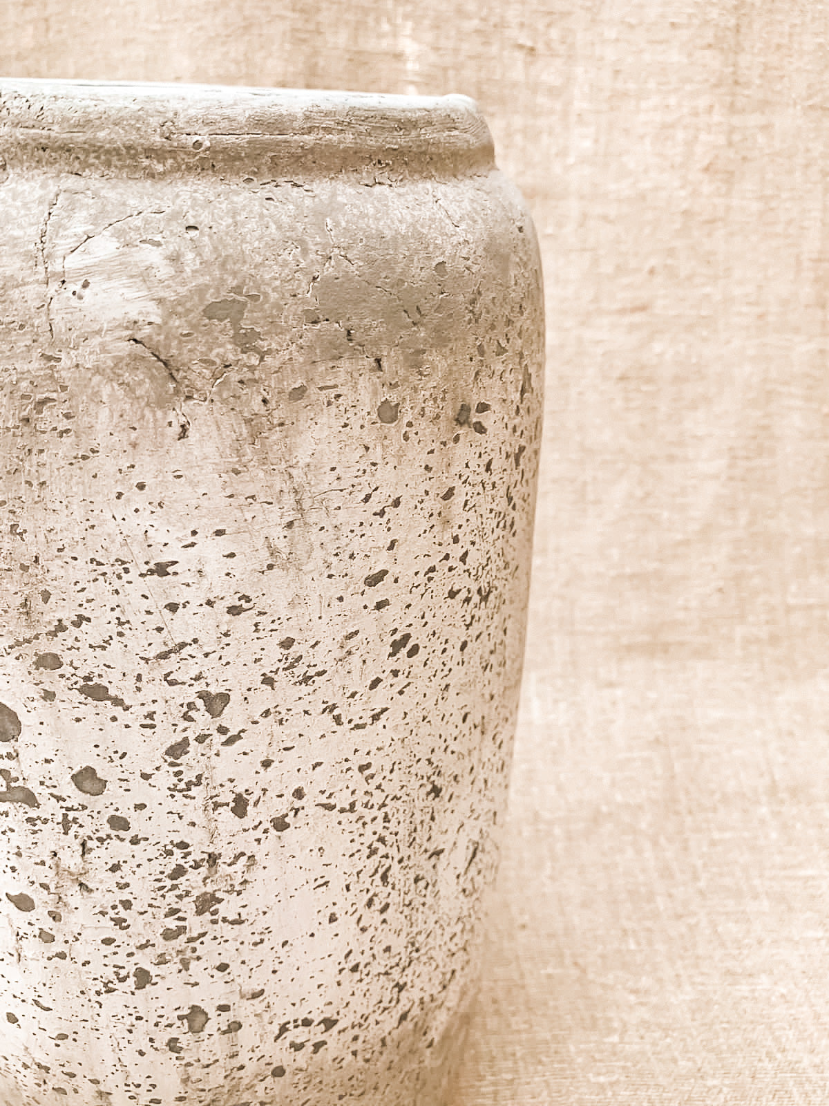 Wiltshire Stone Effect Tall Vase