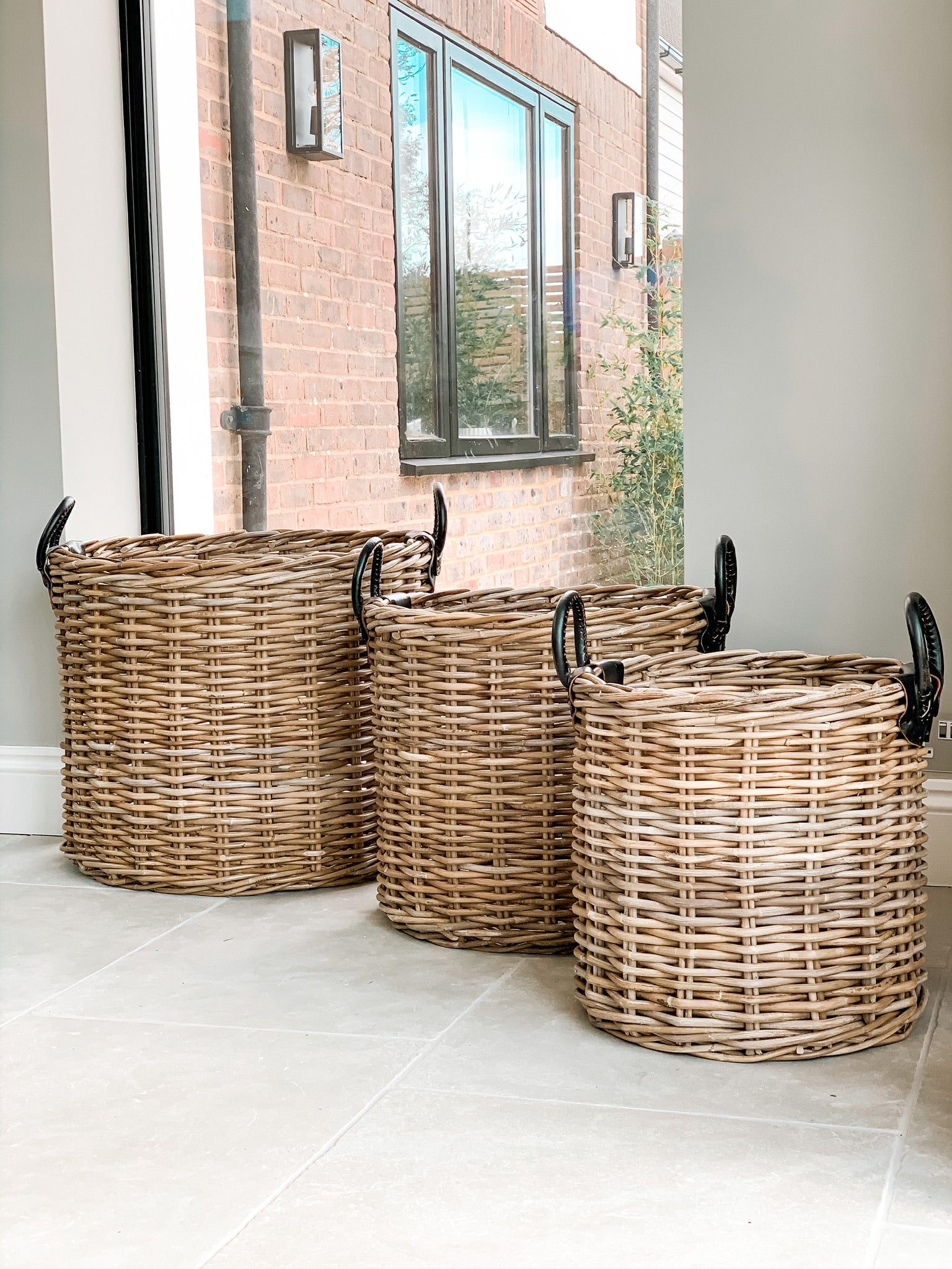 Aylesbury Set of Rattan Baskets