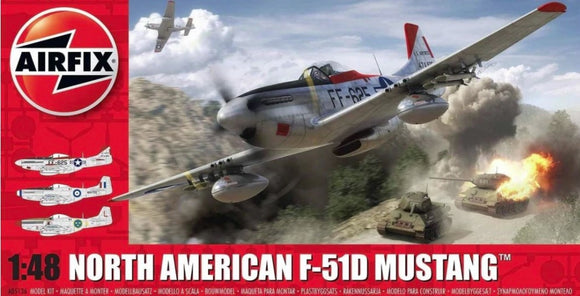 A05136  Airfix  1/48 North American F-51D Mustang