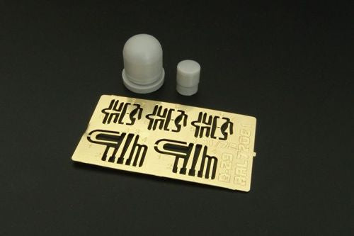 BRL72084 1/72 Boeing B-29A Superfortress antenas and AN/APQ-13 radar----PE and resin set (designed to be used with Academy kits)