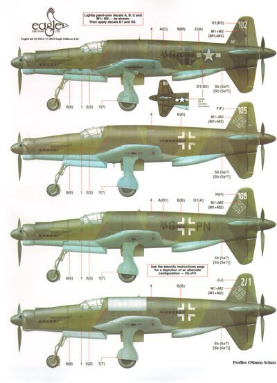 EAG48164 Eagle Cal 1/48 Dornier Do-335
