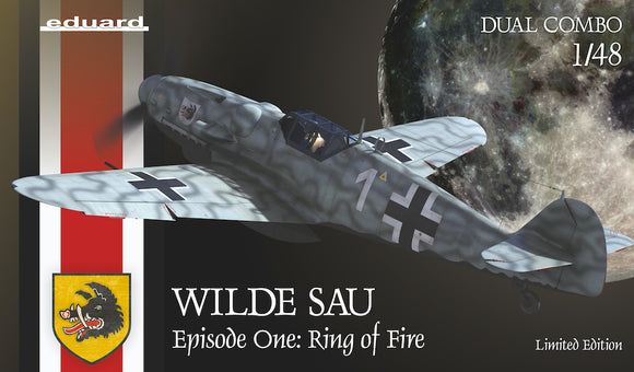 EDK11140 Eduard 1/48 WILDE SAU Epizode One: RING of FIRE Limited edition Dual Combo