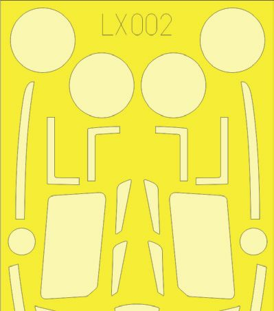 EDLX002 Eduard 1/24 Hawker Typhoon Mk.Ib Car Door 1/24 (Airfix kits)