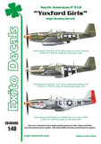 EXED48008 Exito Decals Yoxford Girls - North-American P-51D Mustang