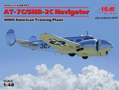 ICM48183 ICM 1/48 AT-7C/SNB-2C Navigator  WWII U.S. Training Aircraft