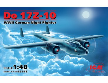 ICM48243 ICM 1/48 Do 17Z-10 WWII German Night Fighter