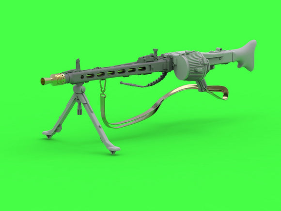 MRGM35024 Master 1/35 MG-42 - German Machine Gun (7.92mm) - complete gun incl. brass, resin and PE parts (1pc)