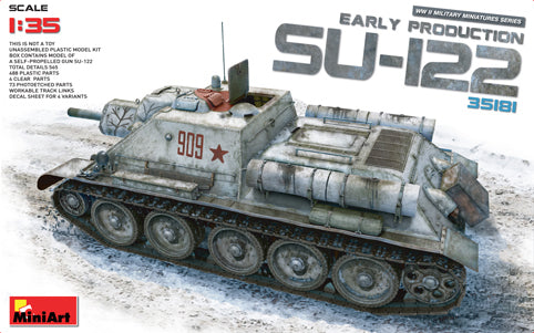 MT35181 Mini Art 1/35 Soviet Su-122 (Early Production)
