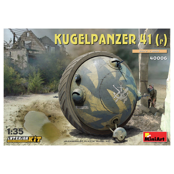 MT40006 Mini Art 1/35 Kugelpanzer 41(r) WITH INTERIOR KIT
