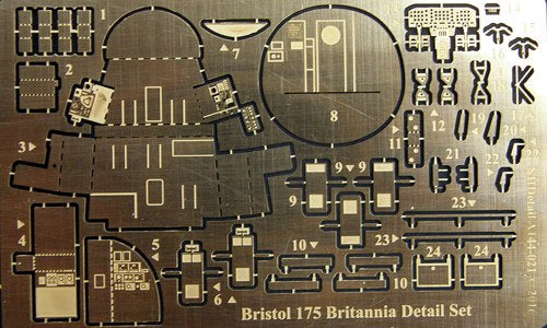 NHA144-021 NH Detail 1/144 Bristol Britannia 175 Series 300 detail set (Roden ROD312 kits)