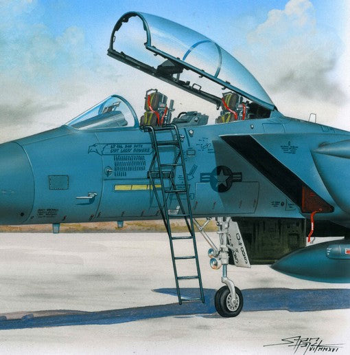 PMAL4060 Plus Model 1/48 Ladder for McDonnell F-15 Eagle  [F-15A F-15A/F-15C F-15B/D F-15C F-15D F-15E F-15I F-15J F-15K]