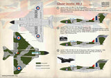 PSL72371 Print Scale 1/72 Gloster Javelin Mk.3 Part 2