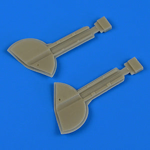 QB32201 Quickboost 1/32 Supermarine Spitfire Mk.IXc undercarriage covers (Revell kits)