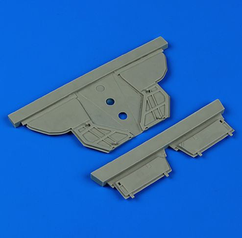 QB48629 Quickboost 1/48 McDonnell F-101A/C Voodoo undercarriage covers (designed to be used with Kitty Hawk Model kits)