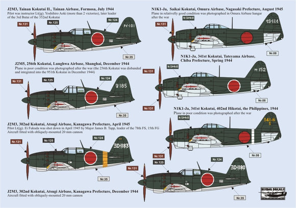 RD72066 Rising Decals 1/72 Japanese Sea Eagles (7)