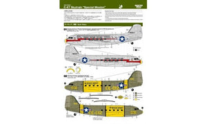 "ROCK72021 Rocketeer Decals 1/72 C-47 Skytrain ""Special Mission"""