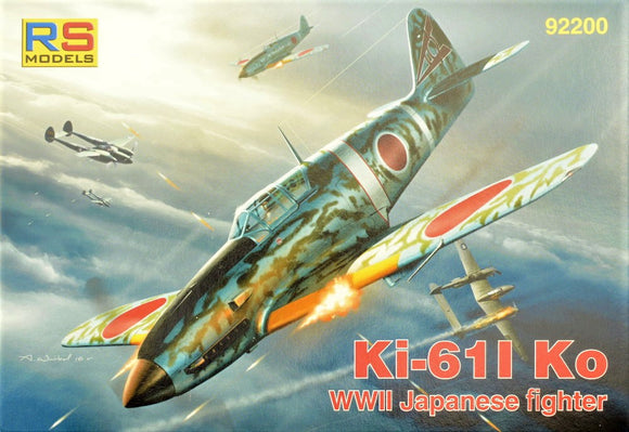RS92200 RS Models 1/72 KI-61 KO Japanese WWII fighter