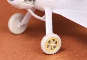 SBS72019 SBS Model 1/72 Gloster Gladiator Mk.I/Mk.II wheel set (spoked) (designed to be used with Airfix kits)