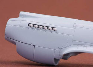 SBS72039 SBS Model 1/72 Curtiss P-40B exhaust (designed to be used with Airfix kits)