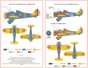 SFD3201 Starfighter Decals 1/32 94th Pursuit Squadron and 19th Pursuit Squadron