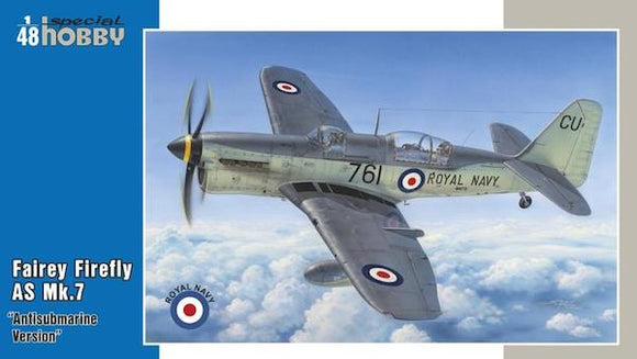 SH48130 Special Hobby 1/48 Fairey Firefly AS Mk.7