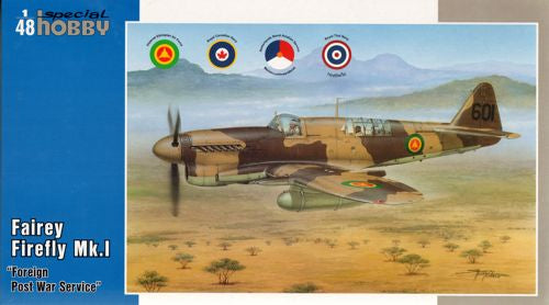 SH48151 Special Hobby 1/48 Fairey Firefly FR Mk.I Foreign Post War Service.