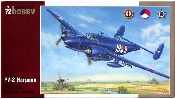 SH72213 Special Hobby 1/72 Lockheed PV-2 Harpoon 'Post War Service'