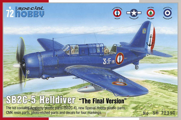 SH72350 Special Hobby 1/72 Curtiss SB2C-5 Helldiver