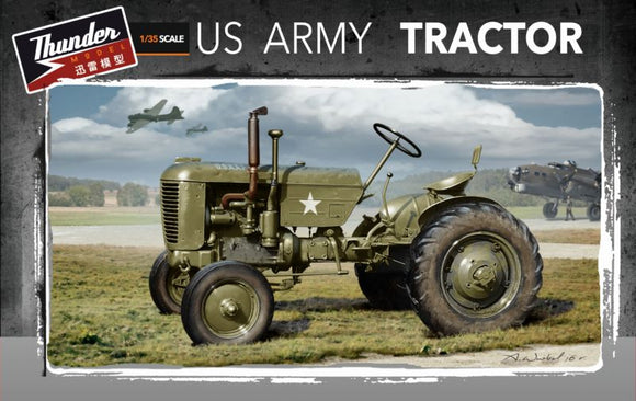 THU35001 Thunder Models 1/35 US Army tractor Case VAI