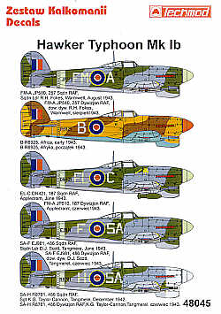 TM48045 Techmod 1/48 Re-printed! Hawker Typhoon Mk.Ib (5)