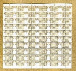 TMW752 Tom's Modelworks 1/700 US Carrier Floatation Baskets US Carriers in WWII PE detail set