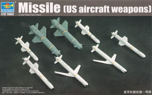 TU03306 Trumpeter 1/32 US Aircraft Weapons: