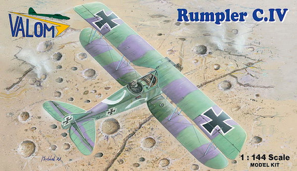 VAL14416 Valom 1/144 Rumpler C.IV (Dual Combo with 2 kit)