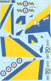 X32035 Xtradecal 1/32 BAe Hawk T.1A XX285 100 Sqn 90th Anniversary 2007 with Yellow and Blue trim.
