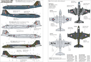 X48053 Xtradecal 1/48 EE Canberra B2 Pt 1