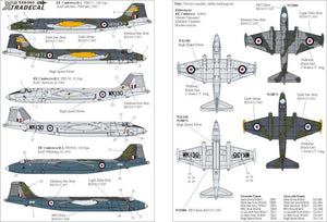 X48054 Xtradecal 1/48 BAC/EE Canberra B.2 Part 2. (3)