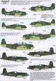 X48102 Xtradecal 1/48 Yanks with Roundels. U.S. Aircraft in the FAA Pt 1 (5)