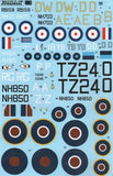 X48130 Xtradecal 1/48 Supermarine Spitfire Mk.XIV / Mk.XVIII (7) High Back.