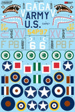 X48163Xtradecal 1/48 Early Curtiss p-40s Pt2