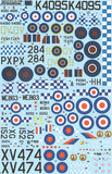 X72124 Xtradecal 1/72 History of RAF 19 Sqn 1935 - 91 (8)
