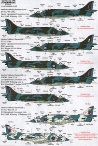 X72181 Xtradecal 1/72 BAe Harrier GR.1 (10)