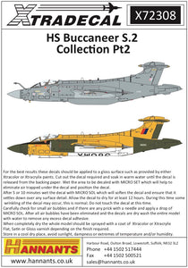 X72308 Xtradecal 1/72 Blackburn Buccaneer S.2 Collection Part.2 (11)