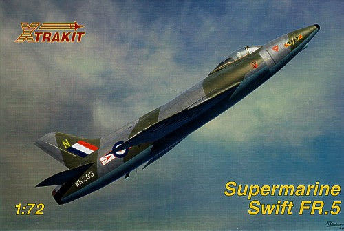 XK72012 Xtrakit 1/72 Supermarine Swift FR.5 with resin ejector seat.