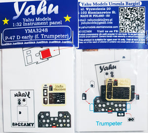 YMA3248 Yahu Models 1/48 Republic P-47D Thunderbolt Early (Trumpeter kits)