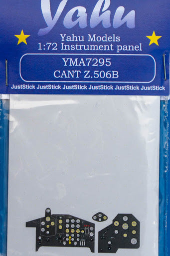 YMA7295 Yahu Models 1/72 Cant Z.506B Photoetched instrument panels.(Italeri)