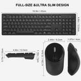 Wireless Keyboard Mouse Comb CE0145_01