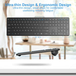 Wireless Keyboard Mouse Comb CE0293_01