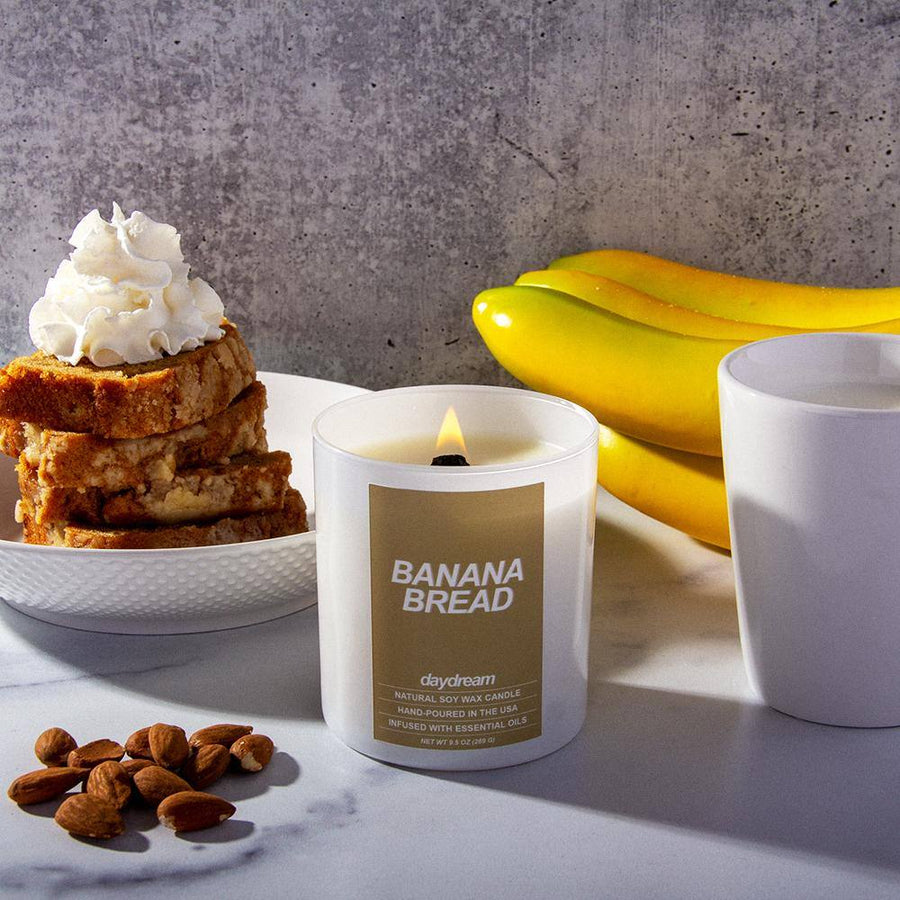 Banana Bread | Soy Jar Candle |  Daydream Candle Company